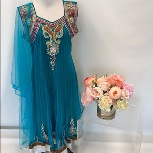 ✨ HOST PICK ✨ Indian Anarkali Suit in Turquoise